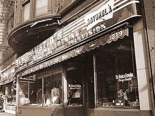 Fine Jewelry was sold at Lustig Jewelers1949