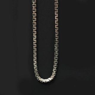Men's sterling silver necklace