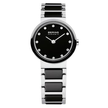 Bering ladies' black ceramic watch
