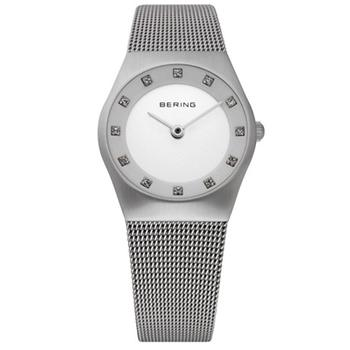 Bering ladies' classic stainless steel watch