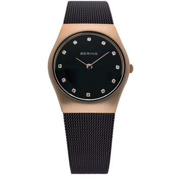 Bering ladies classic brown watch