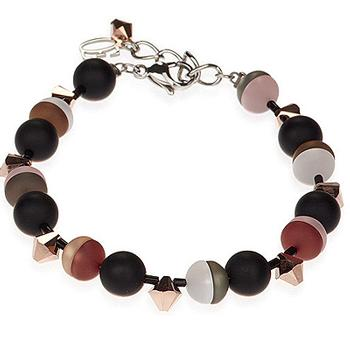 CDL bracelet in earth tones