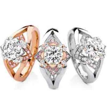 MaeVona Edinburgh semi-mount engagement ring