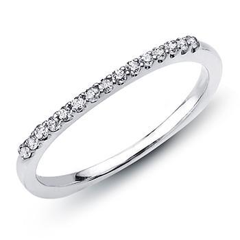 Love Story diamond wedding band