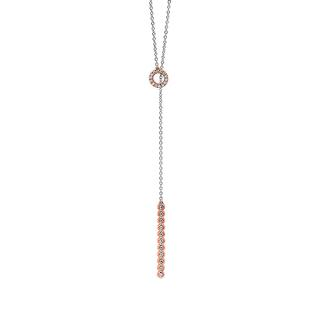 Toggle diamond necklace
