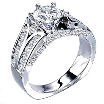 Epic - Love Story semi engagement ring