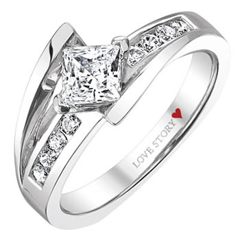 background love rings bridal story lawrence engagement wedding jewelers catalog band