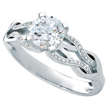 MaeVona Noss semi engagement ring