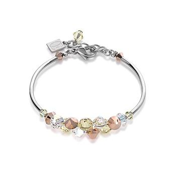 CDL rose gold crystal bracelet