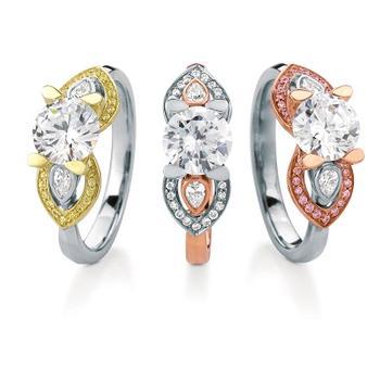 MaeVona Eriskay semi engagement ring