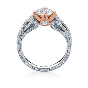 MaeVona Keava semi engagement ring