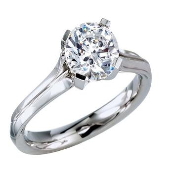 MaeVona Oronsay semi engagement ring