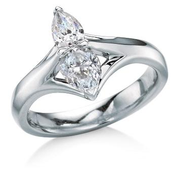 MaeVona Raasay semi engagement ring