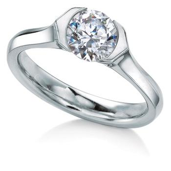MaeVona Rora semi engagement ring