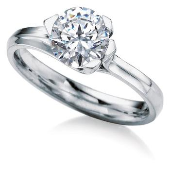 MaeVona Rousay semi engagement ring