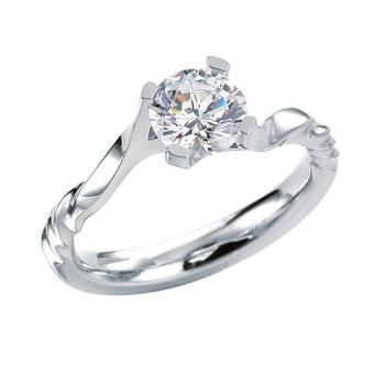 MaeVona Shapinsay semi engagement ring