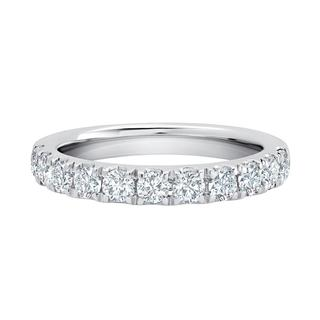 Lab grown diamond wedding band