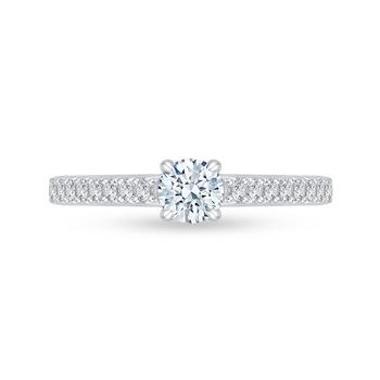 Promezza filigree semi engagement ring