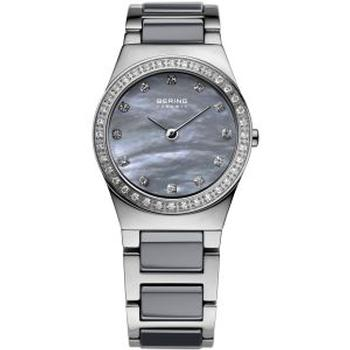 Bering grey ceramic watch