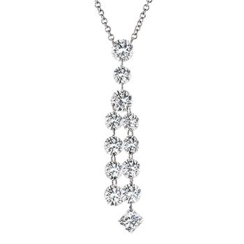 Aero Tassle diamond pendant
