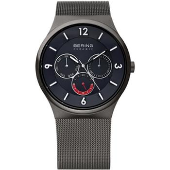 Bering ceramic watch with grey strap