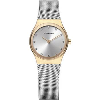 Bering watch with a silver mesh strap