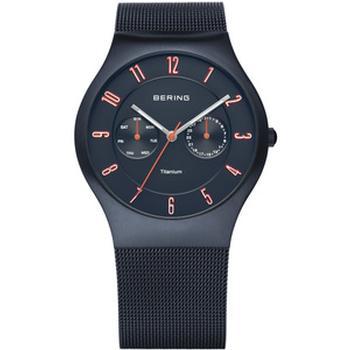 Bering unisex titanium watch