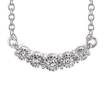 MIracle Mark 5 diamond necklace