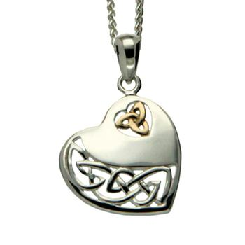 Keith jack celtic heart pendant lustig jewelers keith jack celtic heart pendant aloadofball Images