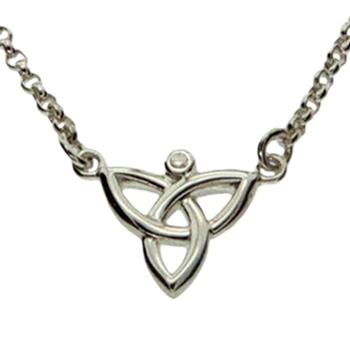 Keith Jack Trinity Knot necklace