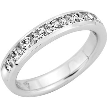 Twelve round diamond anniversary band