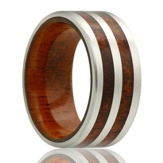 Men's cobalt wedding band