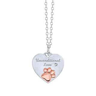 Sterling silver Unconditional Love pendant