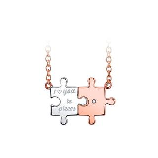 Love you to pieces necklace