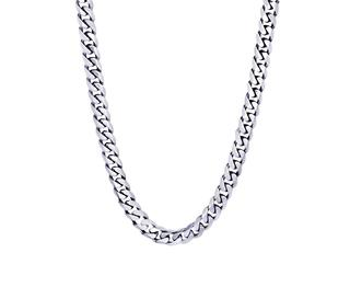 Stainless steel polished link chain