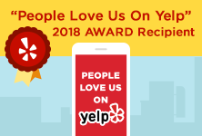 Yelp Award for 2018