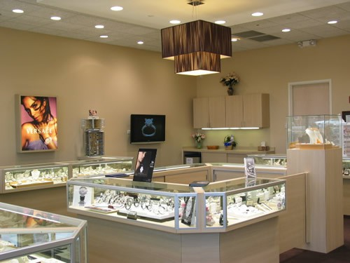 Lustig Jewelers Showcase