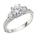 Peter Storm semi engagement ring